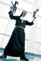 Sister Attacks by moondabor