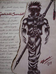 Gabrielle Scarlett by Rabzyor