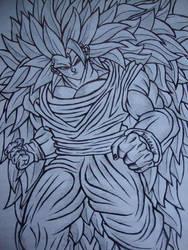 Goku SSJ3 by Rabzyor