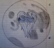 Sleeping Luna by PonyOverlord