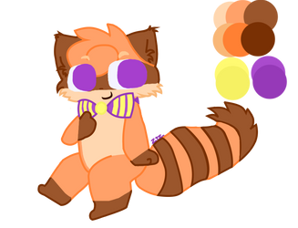 My FNAF OC, Rascal the Raccoon! by ZigtheZag