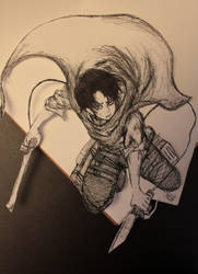 Attack on Titan: Levi by Atlus154274