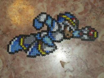 Megaman X- X by OneWingedAngel6883