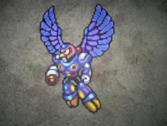 Megaman X- Storm Eagle by OneWingedAngel6883