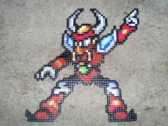 Megaman X- Boomer Kuwanger by OneWingedAngel6883