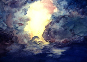 Cloud Study by Christa-S-Nelson
