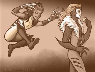 Wolverine Kiku by Vanilleon