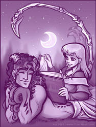 Severian and Tareth by Vanilleon
