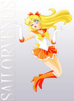 Sailor Venus, Golden Form by ParlourTricks