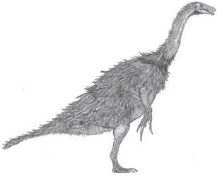 Therizinosaurus cheloniformis by Tomozaurus