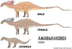 LtL Amargasaurus by Tomozaurus