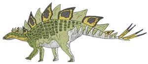 Bad-arse Accurate #5 - Stegosaurus by Tomozaurus