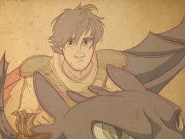 Hiccup Haddock - HTTYD 2 by NightLiight
