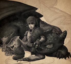 Dragon Trainer - Hiccup Horrendous Haddock III by NightLiight