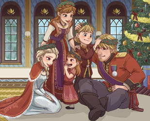 Royal Family Holiday by NightLiight
