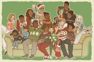 Kristoff's Family Christmas by NightLiight