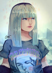 BLACKPINK's Lisa - Stay by ChrisN-Art