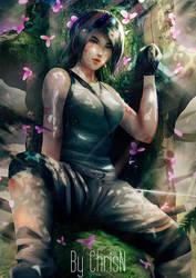 Treetop - Lara Croft :: Tomb Raider by ChrisN-Art