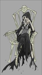 Queen of the Dead by doodlekitten