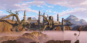 Algins Castle by the-first-seer