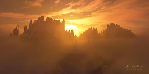 Orakum / sunrise by the-first-seer