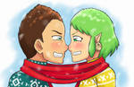 Cold Noses. by Pink--Reptile