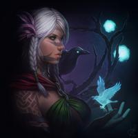 Guild Wars 2 Portrait Commissions - Alienor by jylgeartooth