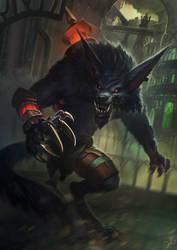 League of Legends: Warwick by jylgeartooth