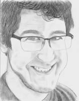 Markiplier Portrait by Firepaw123