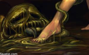 slimefoot by faustie