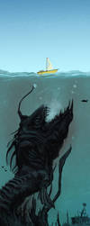 Sea Monster by faustie