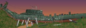 Broken Heart Canyon (FoE town idea) by billy2345