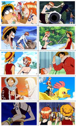 Luffy x Nami Scenes IV by eezybreezy6