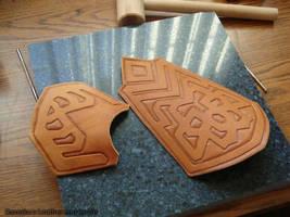 WIP - Thorin Bracers by rassaku
