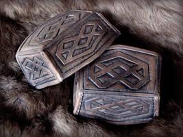 Thorin Boot Caps close-up by rassaku
