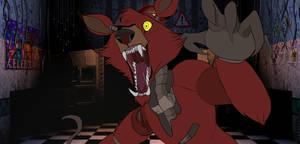 Five Nights at Freddys Foxy by Rabies-Lyssavirus