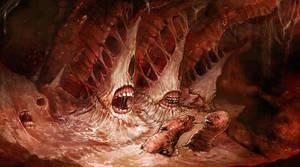 dantes inferno by Xr0ntnEm