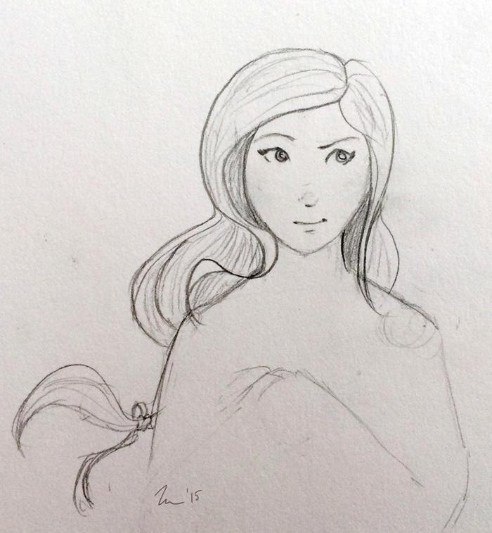 Shaela Morgan WIP by lutra13