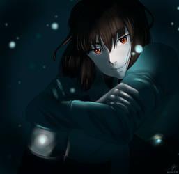 Sweet darkness by Eleo-choco