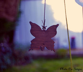 Hanging butterfly by jack2KIA
