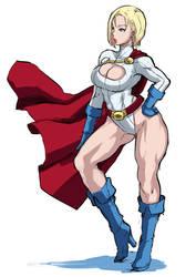 powergirl by butcha-u