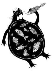 inside a cat by werepine