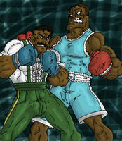 Balrog VS Dudley Request by eloyoya92