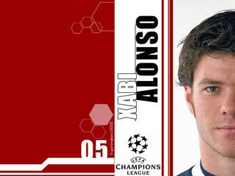 Xabi Alonso - Liverpool FC by gummyleen