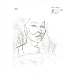 Anna Marya Sketch #2 by CrAzYHoBo949