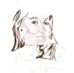 Anna Marya  Painting #1 (2) by CrAzYHoBo949