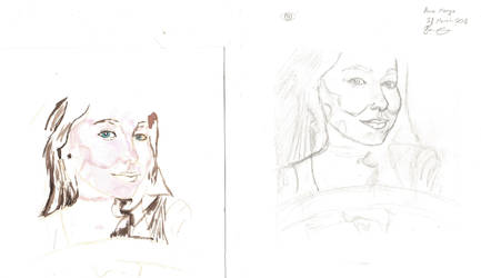 Anna Marya Sketch Stage #2 + Painting Stage #1 by CrAzYHoBo949