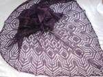 Purple shawl - Windsbraut Padua by NitkaAG
