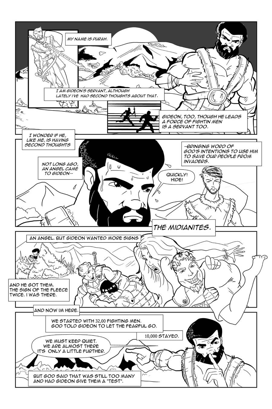A Sword for Lord and for Gideon-page 1 by officerM