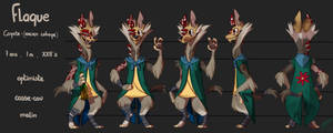 Flaque | Model Sheet by Nabaat